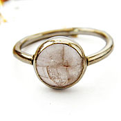 Украшения handmade. Livemaster - original item Ring,rose quartz