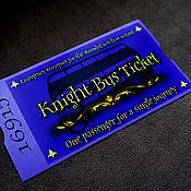 Подарки к праздникам handmade. Livemaster - original item A bus ticket