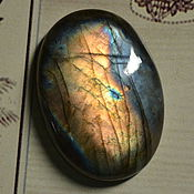 Материалы для творчества handmade. Livemaster - original item Labradorite. Cabochon 41 X 29 X 7,5. Handmade.