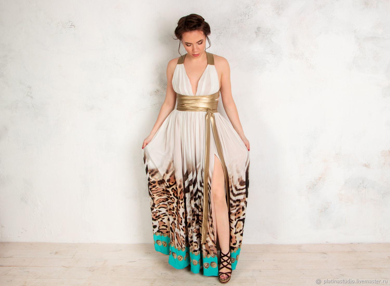 d13e53a4123 Платья ручной работы. Ярмарка Мастеров - ручная работа. Купить Шелковое  белое платье в греческом ...