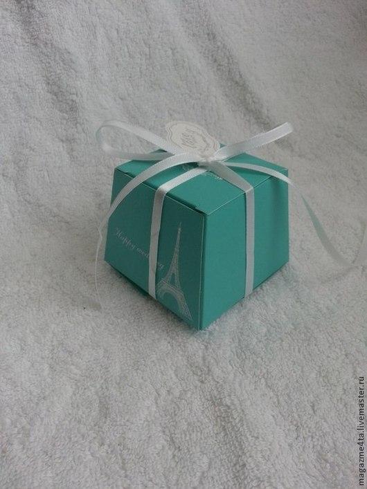 Подарки на свадьбу ручной работы. Ярмарка Мастеров - ручная работа. Купить Бонбоньерка. Handmade. Морская волна, бонбоньерка для свадьбы