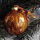"""Новый год 2018 ручной работы. Набор """"Золотые"""" Волшебные шары на елку. Волшебство воды (watermagic). Интернет-магазин Ярмарка Мастеров."""