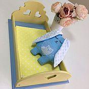 Куклы и игрушки ручной работы. Ярмарка Мастеров - ручная работа Кроватка  для кукол «Принцесса». Handmade.