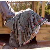 Одежда ручной работы. Ярмарка Мастеров - ручная работа Юбка зелёная. Handmade.