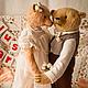 Мишки Тедди ручной работы. JUST MARRIED. VELVET Bear. Ярмарка Мастеров. Свадьба, глазки стеклянные