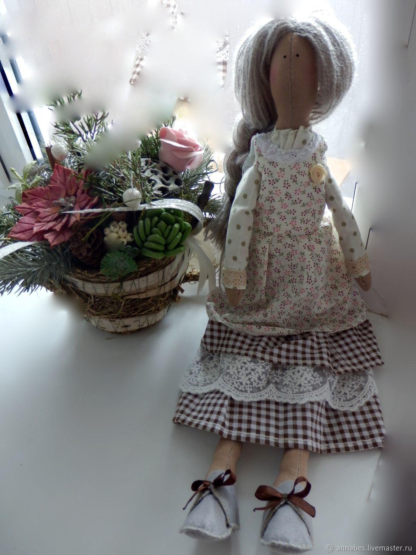"""Кукла Тильда """"Кофейная фея"""", Куклы Тильда, Долгопрудный,  Фото №1"""