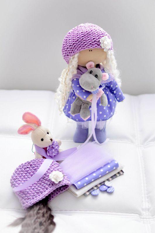 Коллекционные куклы ручной работы. Ярмарка Мастеров - ручная работа. Купить Кукла текстильная. Handmade. Куколка, куколка ручной работы