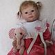 Куклы-младенцы и reborn ручной работы. Ярмарка Мастеров - ручная работа. Купить Машенька. Handmade. Разноцветный, мохер, винил