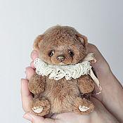Куклы и игрушки ручной работы. Ярмарка Мастеров - ручная работа Koti , маленький мишка тедди,13,5см. Handmade.