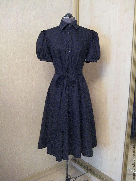 """Платья ручной работы. Ярмарка Мастеров - ручная работа. Купить Платье """"Черный лебедь"""". Handmade. Черный, платье на каждый день"""