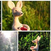 Куклы и игрушки ручной работы. Ярмарка Мастеров - ручная работа Игрушка из войлока Снифф.. Handmade.