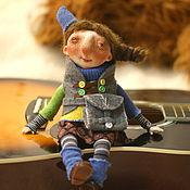 Куклы и игрушки ручной работы. Ярмарка Мастеров - ручная работа Путешественница Зои. Handmade.