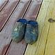 Обувь ручной работы. Заказать Тапочки -  Морское путешествие. Светлана Моргунова ЭкоДиво. Ярмарка Мастеров. Тапочки, тапочки домашние