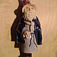 Сказочные персонажи ручной работы. Ярмарка Мастеров - ручная работа. Купить Колокольчик Волшебник Керамика. Handmade. Волхв, рождение, сказочный