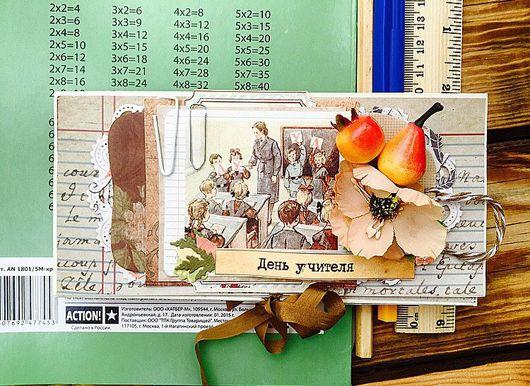 Открытки на все случаи жизни ручной работы. Ярмарка Мастеров - ручная работа. Купить Шоколадница С днем учителя. Handmade. Шоколад