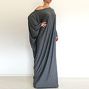 Одежда handmade. Livemaster - original item Shift dress long Dress Long dress Autumn dress. Handmade.