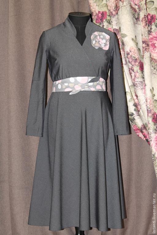 Платья ручной работы. Ярмарка Мастеров - ручная работа. Купить Платье. Handmade. Платье, модная одежда, вискоза
