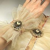 Украшения handmade. Livemaster - original item Lace sketch. Pair of bracelets - cuffs.. Handmade.