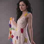 Одежда ручной работы. Ярмарка Мастеров - ручная работа Сарафан летний крючком. Handmade.