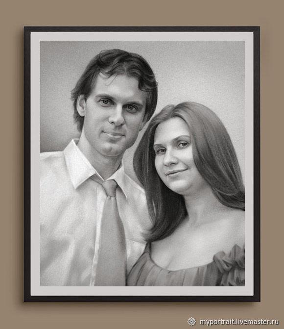 кажется, самый как нарисовать портрет пары по фото слову, певица