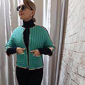 Куртки ручной работы. Ярмарка Мастеров - ручная работа Куртки: Куртка стеганная, двухсторонняя. Handmade.