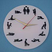 Часы ручной работы. Ярмарка Мастеров - ручная работа Часы: Камасутра. Handmade.