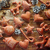 Подарки к праздникам ручной работы. Ярмарка Мастеров - ручная работа Небьющиеся  елочные игрушки. Handmade.