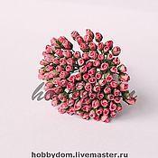 Материалы для творчества ручной работы. Ярмарка Мастеров - ручная работа Роза в бутоне мини. Handmade.