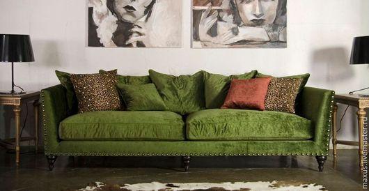 Мебель ручной работы. Ярмарка Мастеров - ручная работа. Купить Реплика итальянского дивана VICTORY CLASSIC. Handmade. Диван