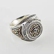 Русский стиль handmade. Livemaster - original item Men`s ring