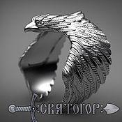"Украшения handmade. Livemaster - original item Ring ""Eagle"". Handmade."