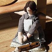 Куклы и игрушки ручной работы. Ярмарка Мастеров - ручная работа Ангел с корицей. Handmade.