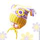 Дина Беляева, Ярмарка мастеров шапка детская купить, шапка для девочки купить