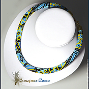 Necklace handmade. Livemaster - original item The wiring of beads