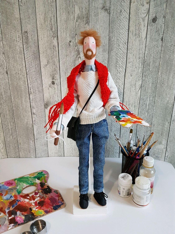 Портретная кукла Тильда, кукла-шарж, кукла по фото, кукла Тильда, Портретная кукла, Москва,  Фото №1