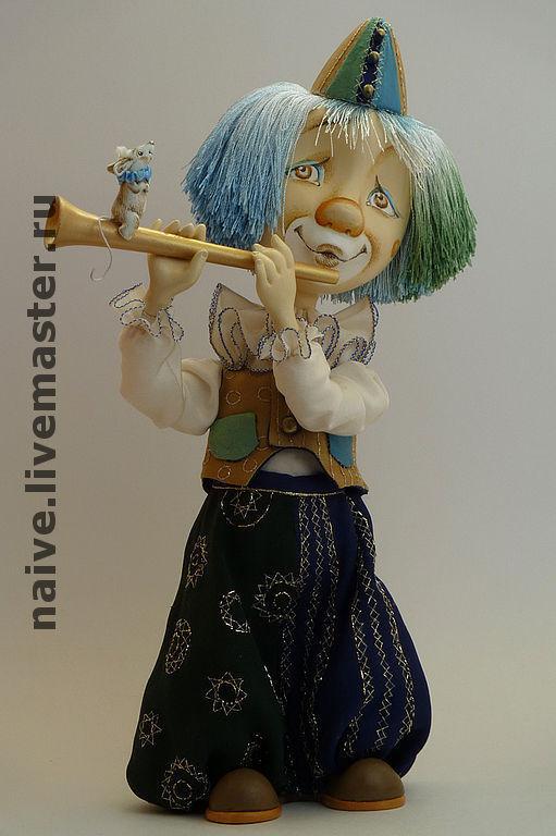 """Коллекционные куклы ручной работы. Ярмарка Мастеров - ручная работа. Купить Кукла """"Клоун"""". Handmade. Папье-маше, цирк, миллипут"""