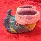 Обувь ручной работы. Ярмарка Мастеров - ручная работа Детские тапочки. Handmade.