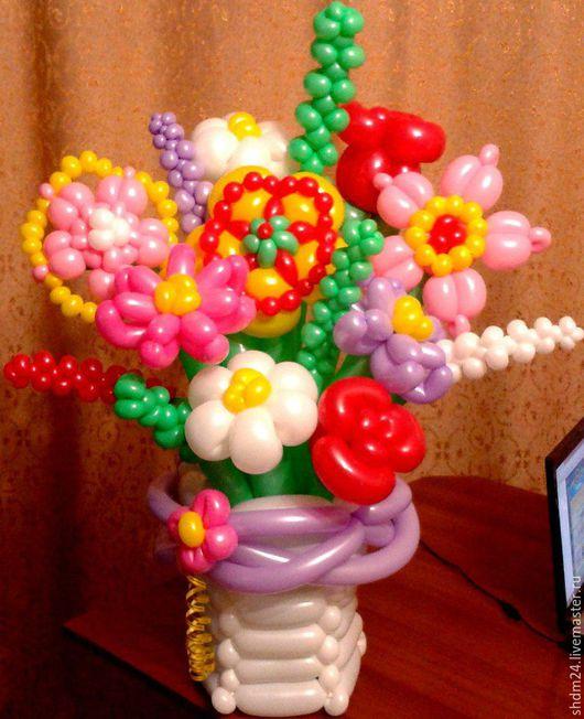 Персональные подарки ручной работы. Ярмарка Мастеров - ручная работа. Купить Букет из воздушных шаров. Handmade. Воздушный шар