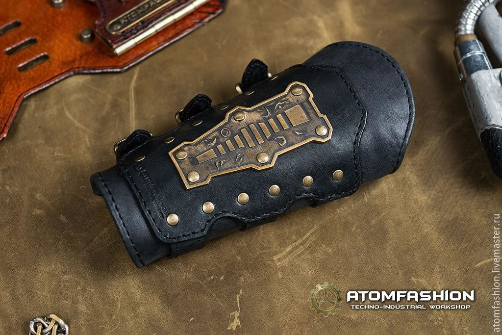 f0df13aaab77 Женский кожаный стимпанк наруч