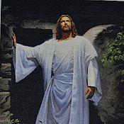 Картины и панно ручной работы. Ярмарка Мастеров - ручная работа Иисус. Воскресение.. Handmade.