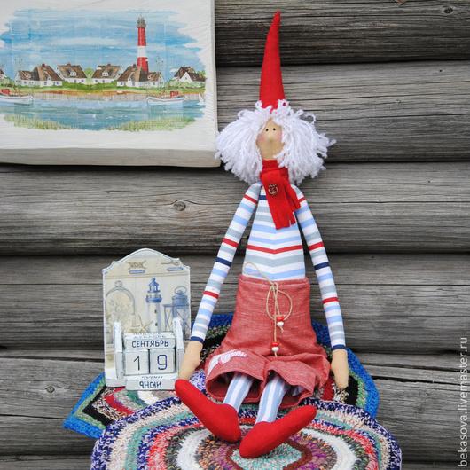 Куклы Тильды ручной работы. Ярмарка Мастеров - ручная работа. Купить Морячок- романтик. Handmade. Кукла, куклы ручной работы