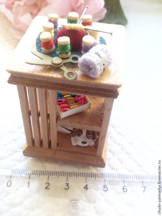Куклы и игрушки ручной работы. Ярмарка Мастеров - ручная работа. Купить Мини-мебель для кукольного домика или фотосессии. Handmade.