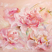 Картины и панно handmade. Livemaster - original item Tenderness in the petals. Handmade.