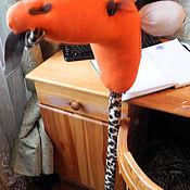 """Куклы и игрушки ручной работы. Ярмарка Мастеров - ручная работа Палка-скакалка """"Жираф"""". Handmade."""