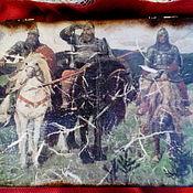 """Для дома и интерьера ручной работы. Ярмарка Мастеров - ручная работа Шкатулка """"Русские богатыри"""". Handmade."""
