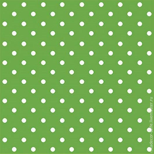 Декупаж и роспись ручной работы. Ярмарка Мастеров - ручная работа. Купить Горох насыщенно-зеленый (SDL066018) 33х33 салфетка для декупажа. Handmade.
