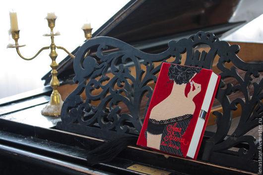 """Женские сумки ручной работы. Ярмарка Мастеров - ручная работа. Купить Клатч-книга """"Анна Каренина"""". Handmade. Однотонный, книга"""