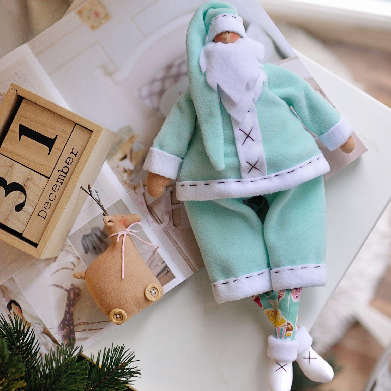 Санта с Оленем, Куклы Тильда, Киев,  Фото №1