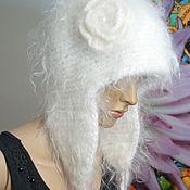 Аксессуары handmade. Livemaster - original item Hat winter Russian Hat knitted from 100% goat down Uryupinsk. Handmade.