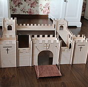 Крепость, замок из фанеры
